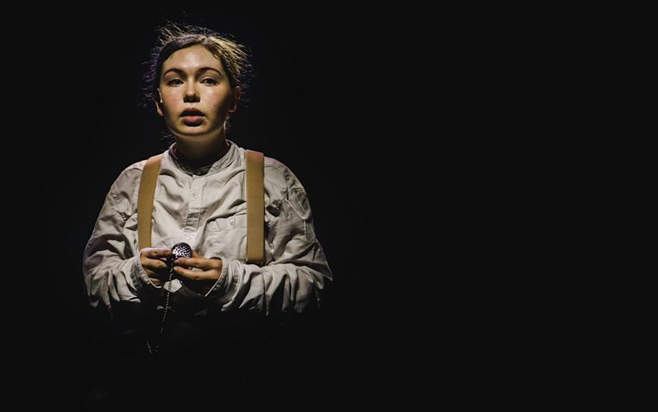 Emily Costello in Private Peaceful at the Barn Theatre, Cirencester