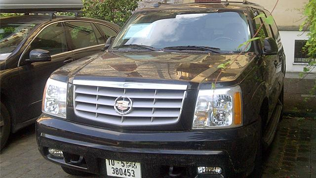 Gadhafi's Cadillac Finally Impounded After 4 Years