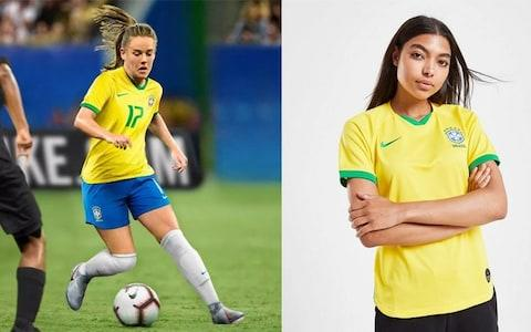Brazil home kit for Women's World Cup 2019 - Credit: NIKE