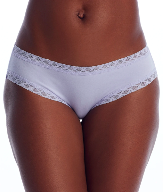 """<h3>Natori Bliss Cotton Brief</h3><br><br><strong>The Prettiest</strong><br><br>If you're a frills-and-lace kinda gal, you may find that cotton underwear often comes up short (ha!) in this department. However, leave it to Natori to dress up the simplest of styles — reviewers declared their breathable brief to be the prettiest cotton underpants they'd encountered.<br><br><strong>The Hype:</strong> 4.7 out of 5 stars; 76 reviews on <a href=""""https://www.barenecessities.com/product.aspx?pf_id=Natori156058"""" rel=""""nofollow noopener"""" target=""""_blank"""" data-ylk=""""slk:BareNecessities.com"""" class=""""link rapid-noclick-resp"""">BareNecessities.com</a><br><br><strong>What They Are Saying: """"</strong>I really think these are the most comfortable panties that are actually pretty as well. This is the only style I buy — they fit well and do not lose their shape, and are simple yet still kinda sexy.""""<br><br><strong>Natori</strong> Bliss Cotton Girl Brief, $, available at <a href=""""https://go.skimresources.com/?id=30283X879131&url=https%3A%2F%2Fwww.barenecessities.com%2Fnatori-bliss-cotton-girl-brief-156058_product.htm%3Fpf_id%3DNatori156058"""" rel=""""nofollow noopener"""" target=""""_blank"""" data-ylk=""""slk:Bare Necessities"""" class=""""link rapid-noclick-resp"""">Bare Necessities</a>"""