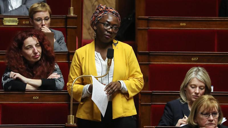 French magazine's depiction of lawmaker as a slave in chains sparks outrage