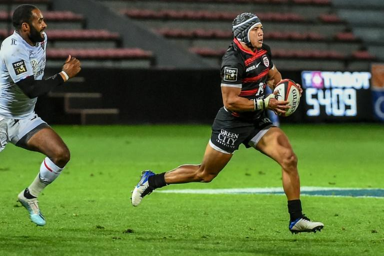 Cheslin Kolbe made his Test debut in 2018 after joining Toulouse a year earlier