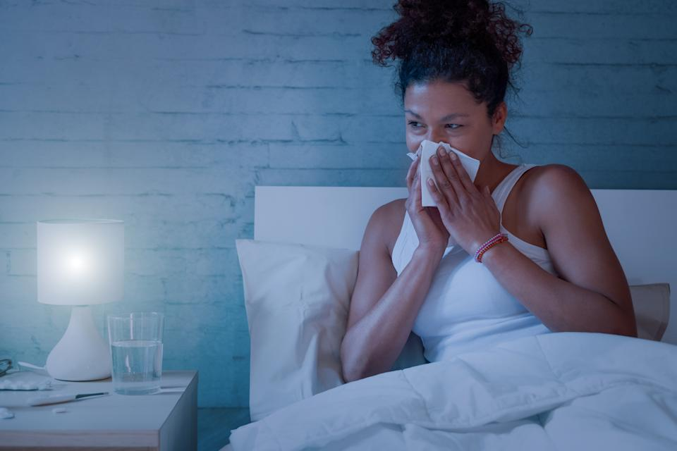 Are your allergies keeping you up at night? (Getty Images)