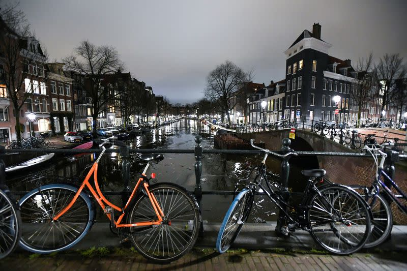 FILE PHOTO: Judges said a nighttime coronavirus curfew should continue to be enforced in the Netherlands
