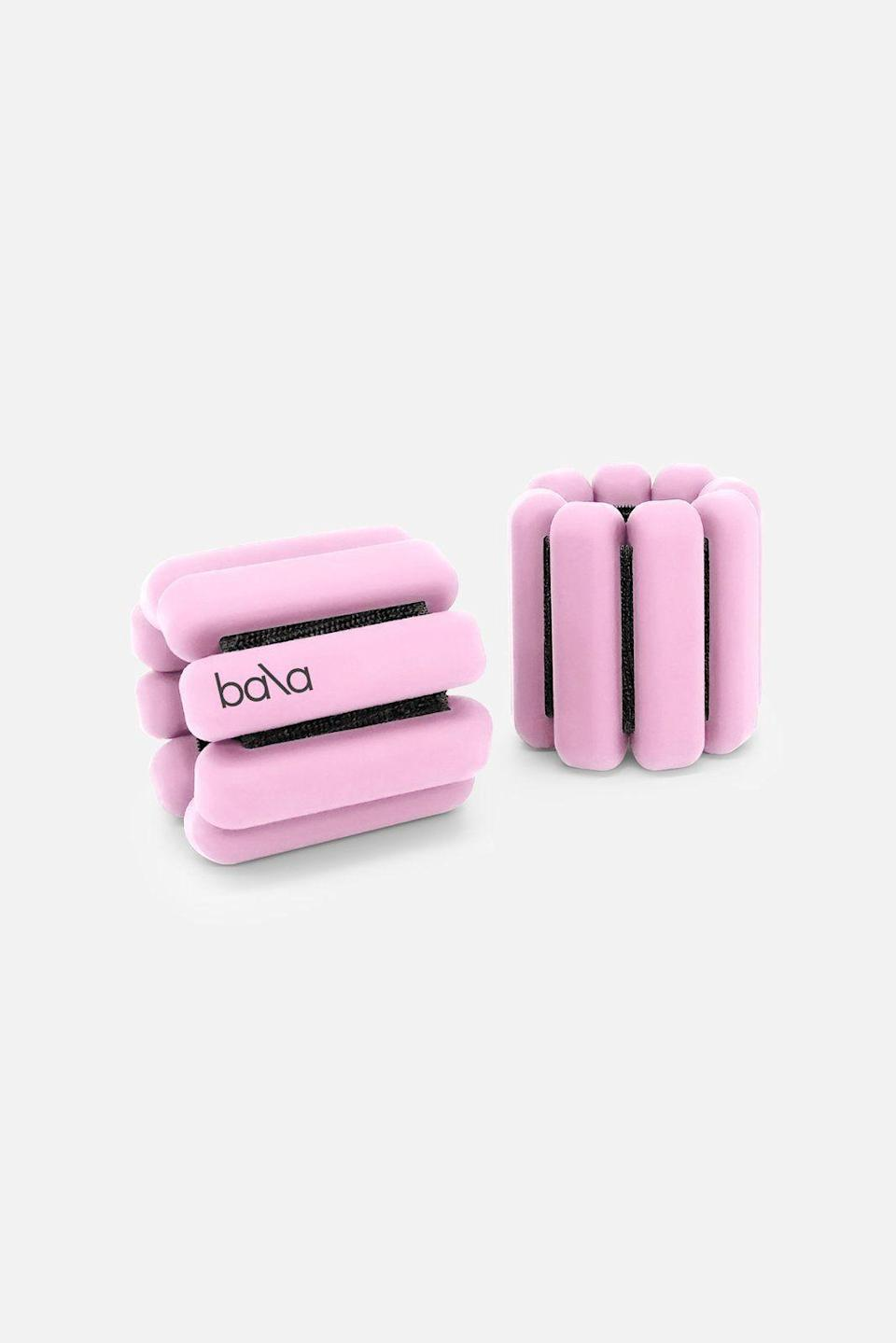 """<p><strong>Bala </strong></p><p>bandier.com</p><p><strong>$65.00</strong></p><p><a href=""""https://go.redirectingat.com?id=74968X1596630&url=https%3A%2F%2Fwww.bandier.com%2Fproducts%2Fbala-2lb-weight-red%3FrefSrc%3D4410781597730%26nosto%3Dproductpage-nosto-1-testing%26variant%3D32125353984034&sref=https%3A%2F%2Fwww.harpersbazaar.com%2Fbeauty%2Fhealth%2Fg23900366%2Fbest-fitness-gifts-ideas%2F"""" rel=""""nofollow noopener"""" target=""""_blank"""" data-ylk=""""slk:Shop Now"""" class=""""link rapid-noclick-resp"""">Shop Now</a></p><p>These weighted wrist bangles are fully adjustable and can add extra oomph to typical workouts (or even just a walk).</p>"""