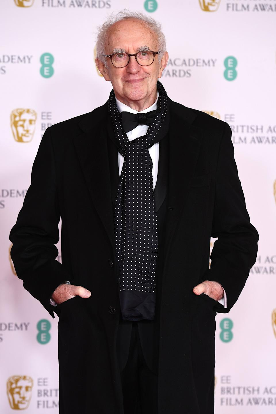 Jonathan Pryce pictured at the Baftas earlier this year (Photo: Jeff Spicer via Getty Images)