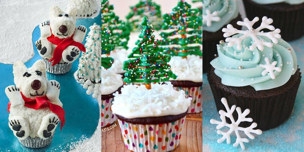 """<p>Everyone has a favorite <a href=""""https://www.goodhousekeeping.com/holidays/christmas-ideas/g745/christmas-desserts/"""" target=""""_blank"""">holiday dessert</a>: It could be a favorite <a href=""""http://www.goodhousekeeping.com/best-christmas-cookies-recipes/"""" target=""""_blank"""">Christmas cookie</a> recipe, an ambitious <a href=""""https://www.goodhousekeeping.com/food-recipes/a8680/caramel-buche-noel-recipe-ghk1210/"""" target=""""_blank"""">Bûche de Noël</a>, or the inevitable destruction and consumption of the <a href=""""https://www.goodhousekeeping.com/holidays/christmas-ideas/g344/gingerbread-houses/"""" target=""""_blank"""">gingerbread house</a>. But Christmas cupcakes are often overlooked — and they shouldn't be, especially if you like to get creative in the kitchen. The simplicity and ease of making the base cupcake — which can come in seasonally appropriate flavors like gingerbread or eggnog — offers a blank canvas for a variety of fun and festive cupcake toppers, especially when set against the white of a vanilla or cream-cheese frosting.<br> <br>Once you've got the base set, get ready to go crazy: Donut holes and marshmallows can become snowmen. The top of a cupcake can be a playground for gingerbread men, be it ones you bake yourself and cut with <a href=""""https://www.amazon.com/Wilton-Holiday-Cookie-Cutter-2308-1250/dp/B000W4SM4K"""">mini cookie cutters</a>, or <a href=""""https://www.amazon.com/Gingerbread-Boy-Sprinkles-2-8-oz/dp/B0761XQWQY"""">sprinkle-sized ones you buy</a>. Red and green M&Ms or crushed up candy canes are a pretty way to decorate with candy that you're dying to eat anyway. Plus, just about anything can become a Christmas tree, from an upside-down ice cream cone to expertly shaped melting chocolate. Just remember to sprinkle the whole thing with coconut shavings, so it all looks snow-covered and perfect. Now, why doesn't Santa ask for these to be left out instead of cookies?<br></p>"""
