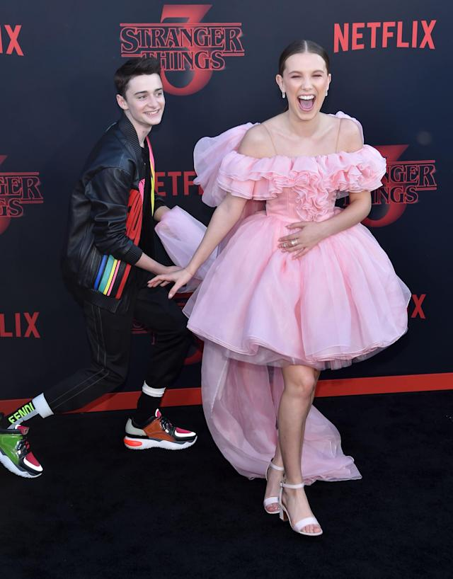 Millie Bobby Brown And Noah Schnapp Are Quickly Shaping Up To Be