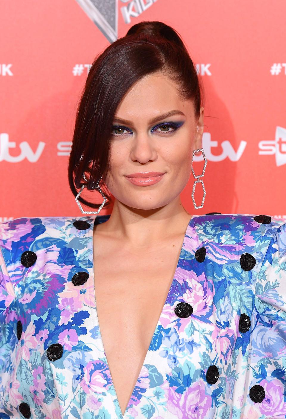 Jessie J attends a photocall to launch the new series of