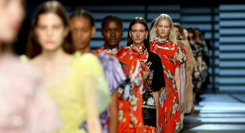 London Fashion Week is looking a little different to last year, and Amazon Fashion has teamed up with British Fashion Council to mark the occasion. (Getty Images)
