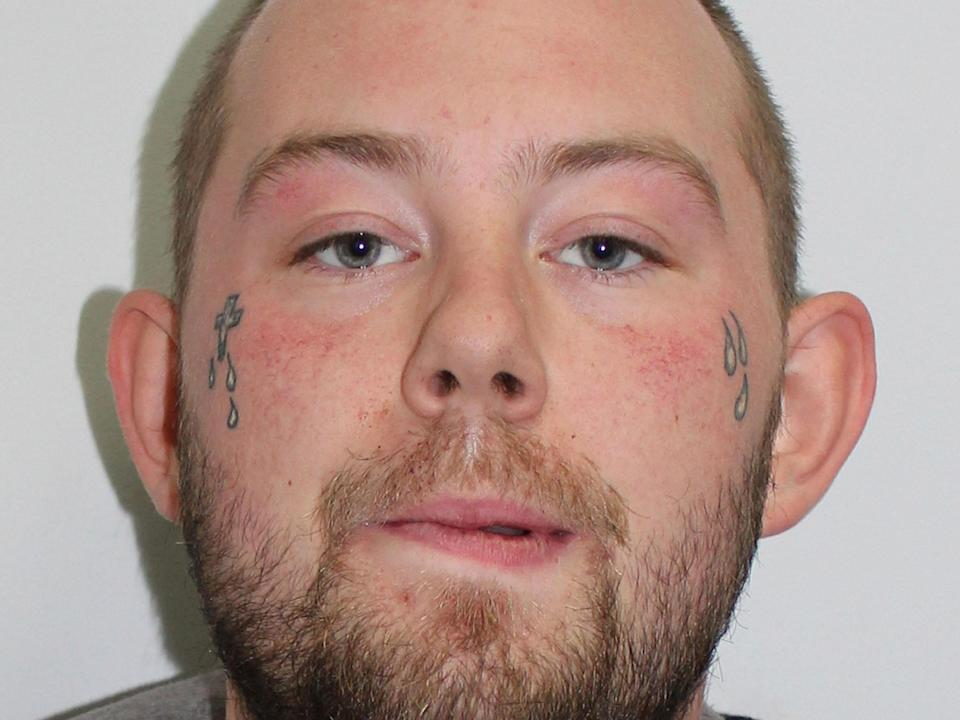 The 24-year-old handed himself in at a police station on Sunday and is being held in custody: PA Wire/PA Images