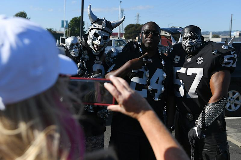 Raiders fans aren't happy with Antonio Brown. (Getty Images)