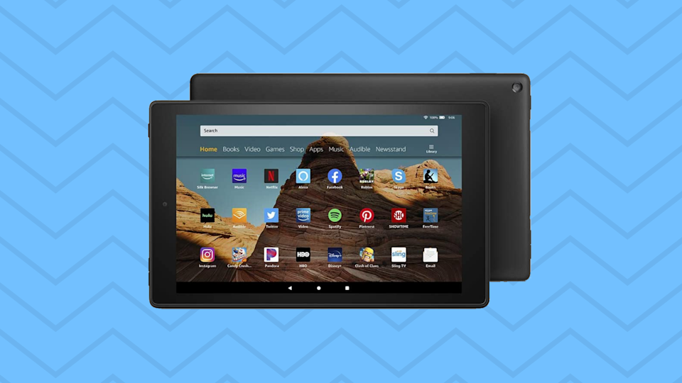 Save $55 on the Fire HD 10 tablet. (Photo: Amazon)