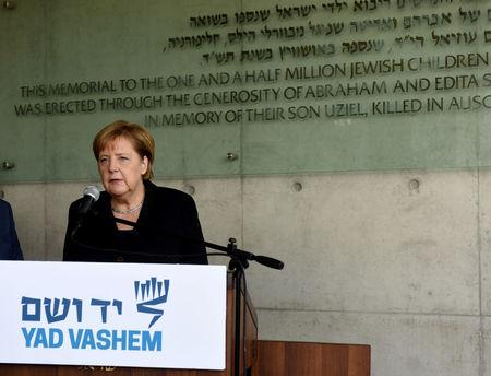 Germany has 'everlasting responsibility' to combat anti-Semitism