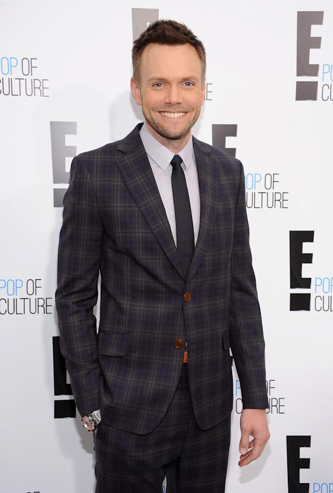"""Joel Mchale (""""<a href=""""http://tv.yahoo.com/the-soup/show/34007"""">The Soup</a>"""") attends E!'s 2012 Upfront event at Gotham Hall on April 30, 2012 in New York City."""
