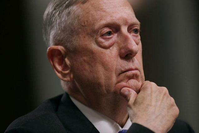 Defense Secretary James Mattis testifies before the Senate Armed Services Committee. (Photo: Chip Somodevilla/Getty Images)