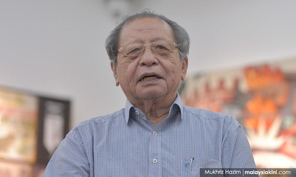 Kit Siang offers rare praise for PM after 'nobody is above the law' remark