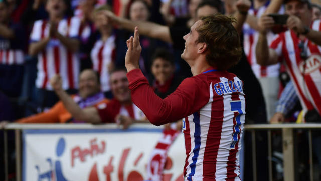 <p>Still sitting 4th in La Liga, Atlético got themselves a nice victory against their closest rival FC Sevilla thanks to an absolute beauty of a free-kick from their number 7, Antoine Griezmann. </p> <br><p>Although 'Grizou' didn't celebrate with his trademark 'Hotline Bling' style this time, he instead once again showed his love for NBA with a nice JR Smith celebration. </p>