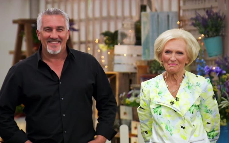 Great British Bake Off judges Paul Hollywood and Mary Berry - Credit: ZJJG/LNG