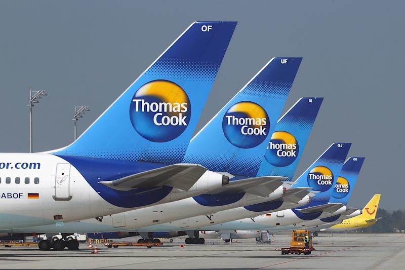 Thomas Cook planes. Photo: Getty