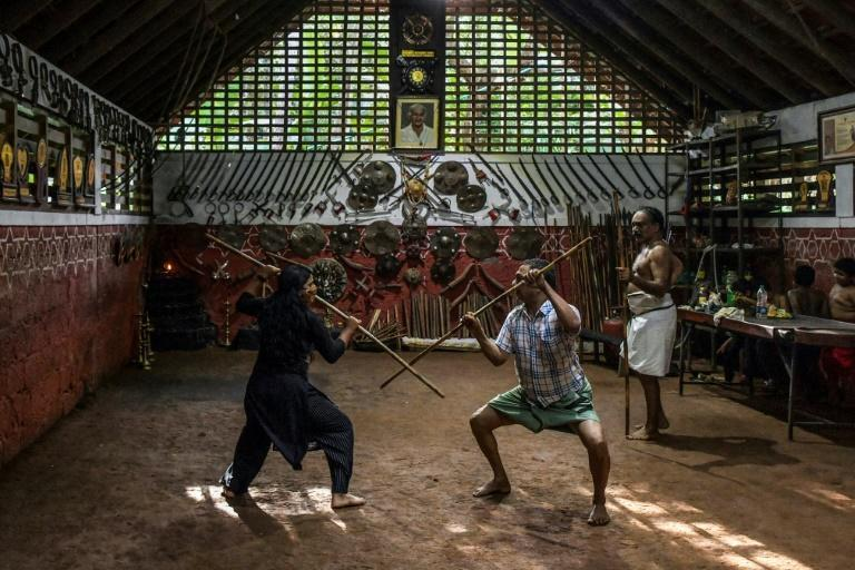 The practice is reputedly 3,000 years old, and mentioned in ancient Hindu scriptures (AFP/Manjunath Kiran)