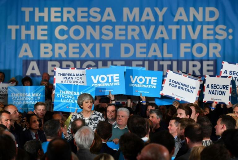 UK exit poll says Conservatives to win largest number of seats