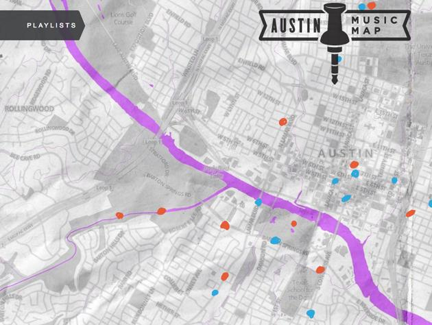 Without a SXSW Music badge? Try the Austin Music Map on live map, linkedin map, business map, culture map, marketing map, communication map, research map, love map, fashion map, networking map, food map, inspiration map, maker faire map, london map, fun map, tv map, coachella map, itunes map, sasquatch map, interactive map,
