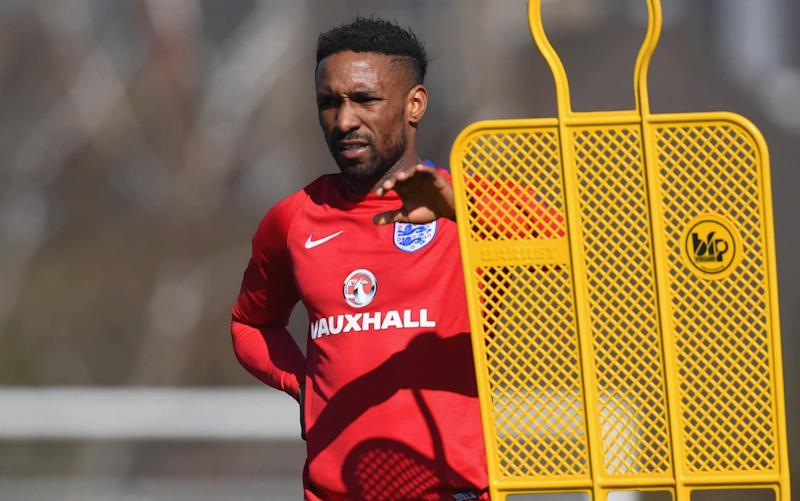 Jermain Defoe's fine Sunderland form earned him an England recall - The FA Collection