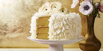 """<p>Bring a little extra decadence to your July 4th feast with a coconutty cake sandwiched with rich icing.</p><p><em><a href=""""https://www.goodhousekeeping.com/food-recipes/a37460/coconut-layer-cake-with-cream-cheese-frosting-recipe/"""" rel=""""nofollow noopener"""" target=""""_blank"""" data-ylk=""""slk:Get the recipe for Coconut Layer Cake With Cream Cheese Frosting »"""" class=""""link rapid-noclick-resp"""">Get the recipe for Coconut Layer Cake With Cream Cheese Frosting »</a></em> </p>"""