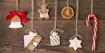 """<p>When it's time to <a href=""""https://www.countryliving.com/home-design/decorating-ideas/tips/g1251/trim-christmas-trees-1208/"""" rel=""""nofollow noopener"""" target=""""_blank"""" data-ylk=""""slk:trim the Christmas tree"""" class=""""link rapid-noclick-resp"""">trim the Christmas tree</a> this year, we know that you will want to grab your tried-and-true ornaments that you have been using year after year, and for good reason, the memories they hold are priceless. And while they're a surefire way to spruce up your, well, spruce, we think DIY Christmas ornaments can be just as meaningful. (Especially if you can turn making handmade ornaments into a <a href=""""https://www.countryliving.com/entertaining/g2801/christmas-bucket-list/"""" rel=""""nofollow noopener"""" target=""""_blank"""" data-ylk=""""slk:fun Christmas activity"""" class=""""link rapid-noclick-resp"""">fun Christmas activity</a> for the family and create memories together!) Whether you're already in the holiday spirit and can't wait to get to work, or want to hold off on making them until you've picked out your tree, there's never a wrong time to start thinking about what homemade Christmas ornaments you want to create this season.</p><p>To help get you inspired, we've put together some of our favorite easy-to-make DIY Christmas ornaments. <a href=""""https://www.countryliving.com/diy-crafts/g4965/salt-dough-ornament-ideas/"""" rel=""""nofollow noopener"""" target=""""_blank"""" data-ylk=""""slk:Salt dough Christmas ornaments"""" class=""""link rapid-noclick-resp"""">Salt dough Christmas ornaments</a> are super fun to make and the kids will love getting their hands messy helping out. With so many <a href=""""https://www.countryliving.com/diy-crafts/tips/g907/craft-ideas-for-christmas-decorations-1209/"""" rel=""""nofollow noopener"""" target=""""_blank"""" data-ylk=""""slk:DIY Christmas decorations"""" class=""""link rapid-noclick-resp"""">DIY Christmas decorations</a> and options to choose from, you're bound to find something that suits your taste. From options that are perfect for rustic trees, like tiny ornaments"""