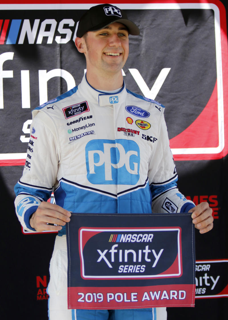 Cindric wins at Mid-Ohio for second straight Xfinity victory
