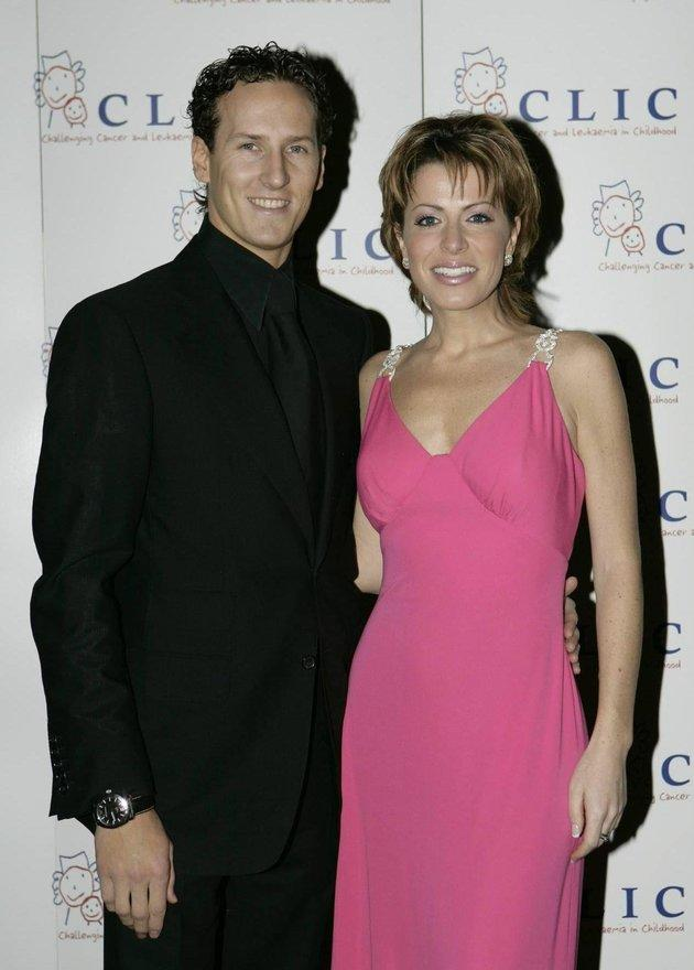 Natasha with her 'Strictly' partner Brendan Cole in 2004