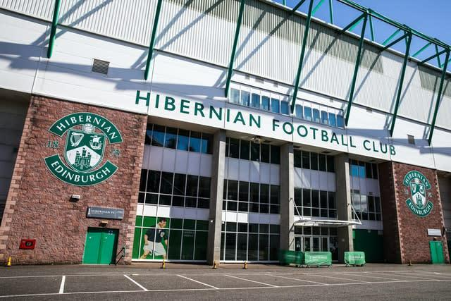 Hibernian were satisfied with the season finishing earlier despite dropping to seventh as a result (Andrew Milligan/PA)