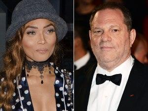 Kadian Noble and Harvey Weinstein