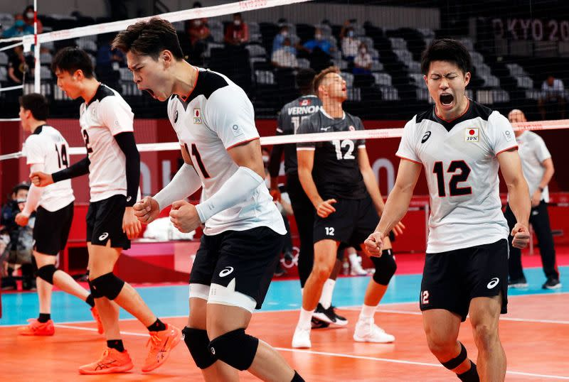 Volleyball - Men's Pool A - Japan v Canada