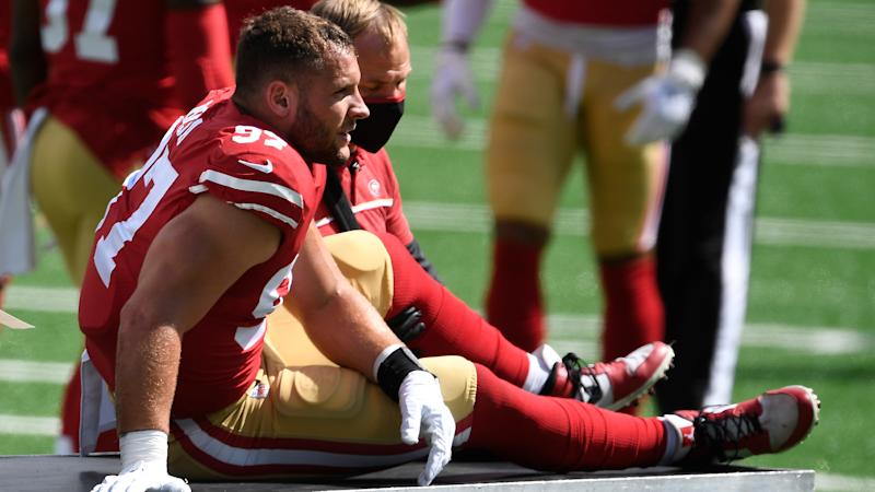 49ers confirm Bosa has torn ACL