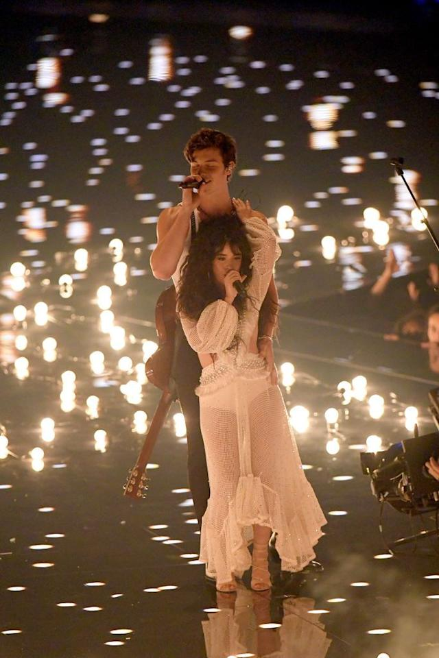 """<p>During their <em></em>sultry <em>Señorita </em>performance at the 2019 VMAs, Shawn and Camila, according to Greer, showed everyone how they trust and support each other. </p><p>""""Shawn's there to support Camila [literally and figuratively] and has his hand on her waist to remind her that he always has her back.""""</p>"""