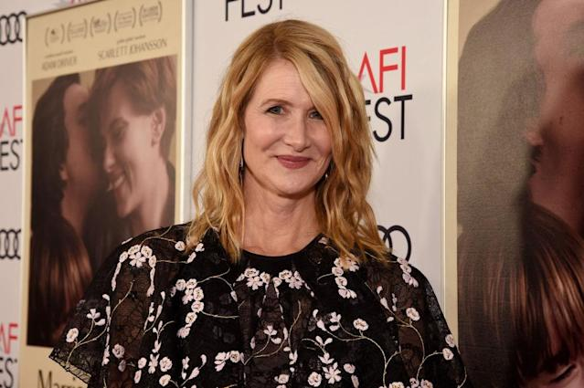 "Laura Dern attends a screening of ""Marriage Story"" at AFI Fest 2019 on Nov. 21 in Hollywood, California. (Photo: Michael Kovac/Getty Images for Audi)"