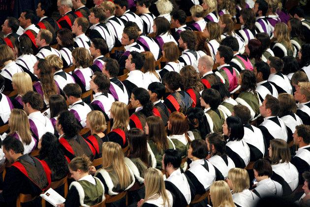 University subjects to be given gold, silver or bronze ratings, Government announces