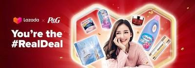 P&G and Lazada Empowers Women To Feel More Confident Together in their RealDeal campaign