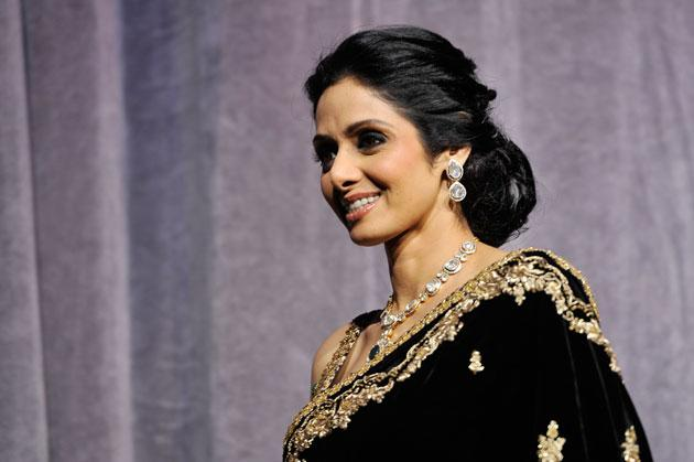 Sridevi walks the ramp