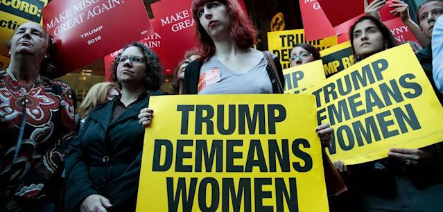The Republican candidate's misogyny has galvanized the feminist movement with more force and fury than any political issue in generations.