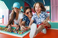 <p>John Stamos, wife Caitlin McHugh and their son Billy have fun at The Lego Movie World at Legoland California Resort on June 5 in Carlsbad, California.</p>