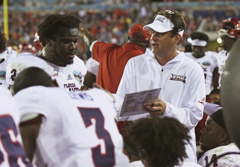 Lane Kiffin Hires 24-Year-Old As FAU's Offensive Coordinator