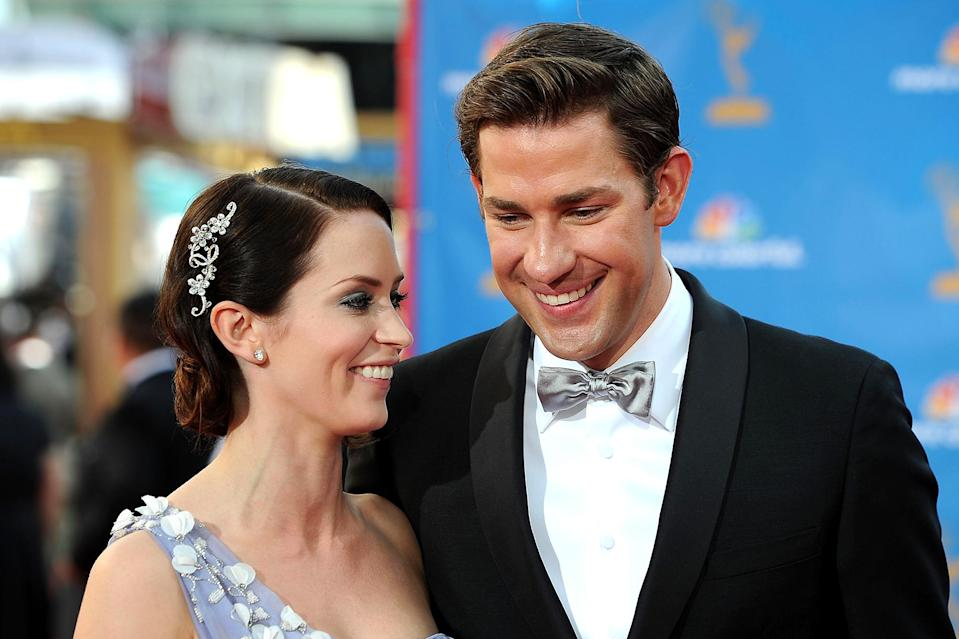 <p>Some things never change, like Emily Blunt and John Krasinski being serious couple goals. </p>