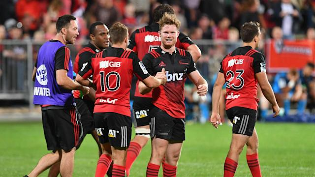 Both Crusaders and Chiefs maintained their perfect records in Super Rugby on Friday, the former producing yet another superb fightback.