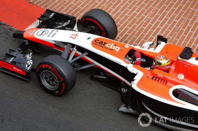 "Jules Bianchi, Marussia MR03 <span class=""copyright"">Sutton Motorsport Images</span>"