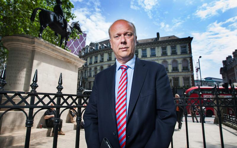 Chris Grayling - Credit:  Julian Andrews/ Julian Andrews