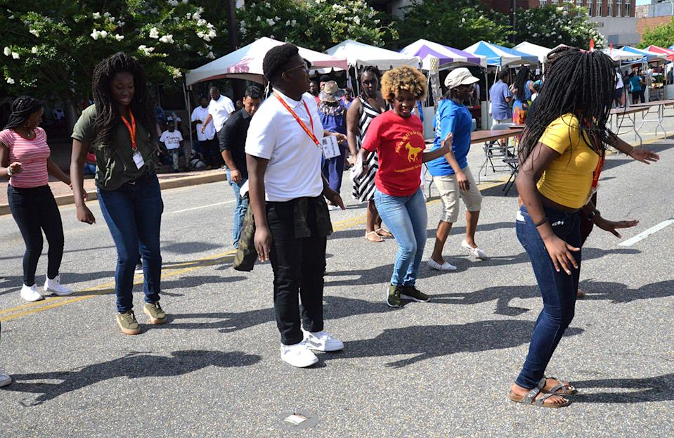 The Juneteenth celebration returns to an in-person street festival on Saturday outside the Rosa Parks Museum in downtown Montgomery.