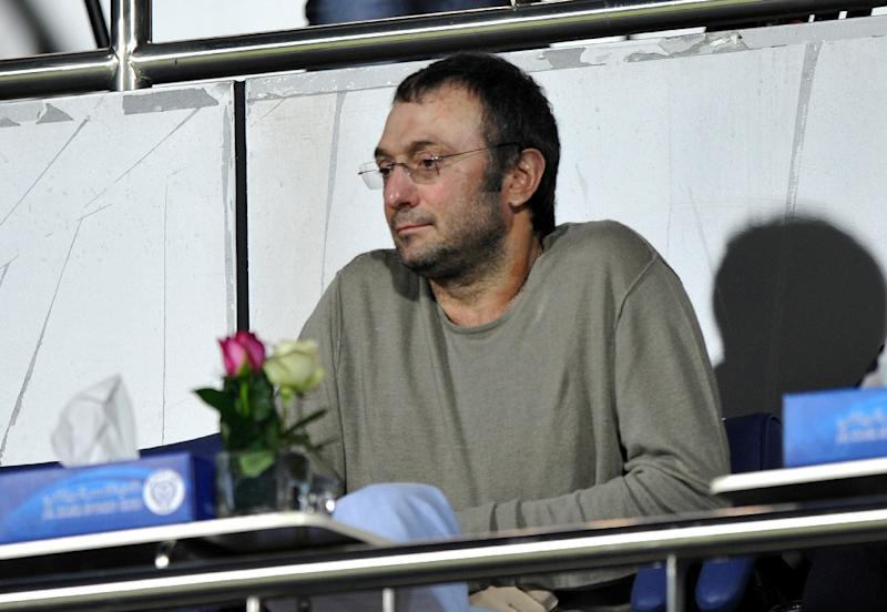 Russian powerful oil and metals magnate Suleiman Kerimov, pictured here in 2012, has again been indicted in France for tax fraud after he allegedly used middlemen to buy luxury villas in southern France